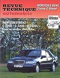 E.T.A.I - Revue Technique Automobile 578.2 - MERCEDES CLASSE C I - 202 - 1993 à 1997
