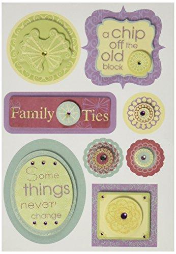 Preisvergleich Produktbild Amerikanische traditionelle Sticker,  10, 2 x 15, 2 cm,  Motiv A Family Affair