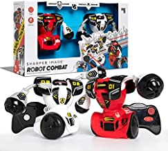 Sharper Image Remote Control Robot Multiplayer Combat Set, Red & White
