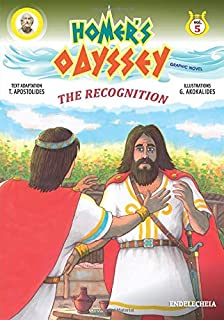 Homer's Odyssey - Graphic Novel: The Recognition - Colored Edition