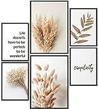 Papierschmiede® Mood-Poster Set Getreide | Bilder als