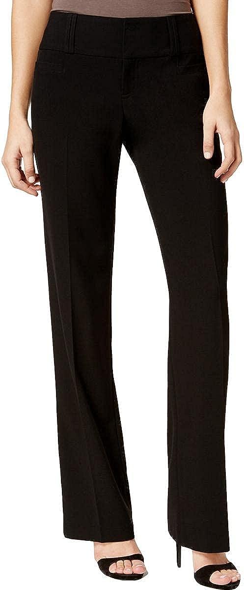 BCX Womens Juniors Slimming Wide Leg Dress Pants
