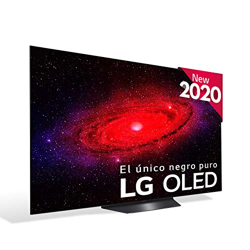 LG OLED55B9S - Smart TV 4K OLED 139 cm (55') con Inteligencia Artificial, Procesador Inteligente α7 Gen2, Deep Learning,...