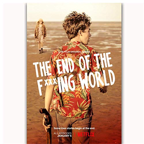 The End of the Fing World Netflix TV Series Show Art Poster Top...