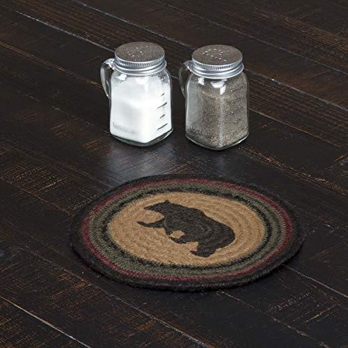 VHC Brands Wyatt Table Décor, 8' Trivet, Tan