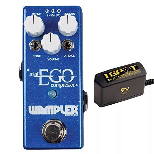 Wampler Ego Compressor Mini Bundle w/Truetone 1 Spot Space Sacing 9v Adapter