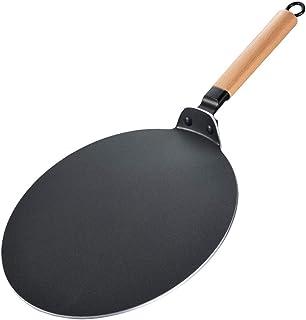 Sartén crepera Panqueques antiadherente, para los huevos, carne, herramienta de la fruta del crepe del hogar, Inducción incompatible,thickening,32cm