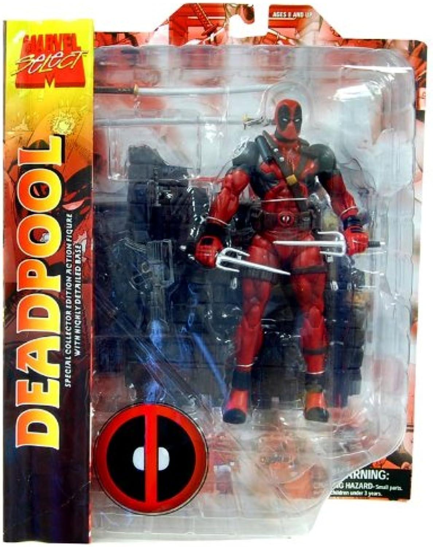 Marvel Select Deadpool Action Figure Mit Maske B00H71UUVE Modisch | Sonderpreis