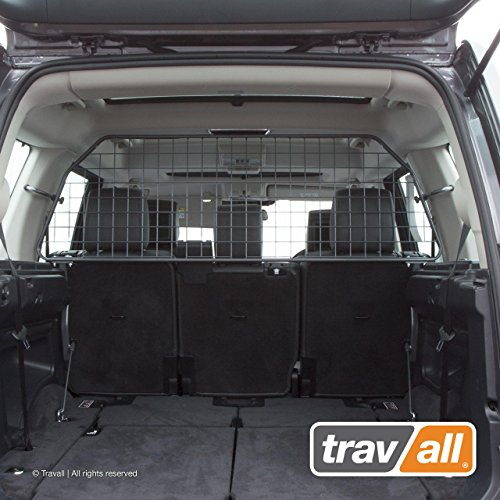 Travall Guard Compatible with Land Rover LR3 Discovery 3 (2004-2009) LR4 Discovery 4 (2009-2016) TDG1509 - Rattle-Free Steel Vehicle Specific Pet Barrier