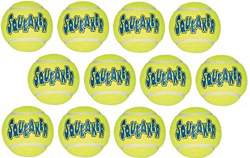 KONG Company Med Tennis Ball (Pack of 12 Balls)