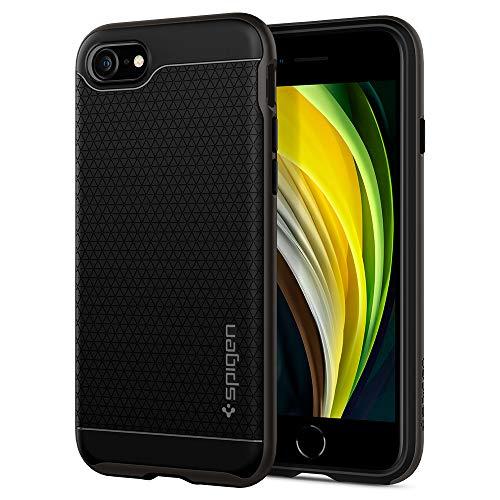 Spigen Neo Hybrid [2nd Generation] Designed for iPhone SE 2020 Case/Designed for iPhone 8 Case (2017) / Designed for iPhone 7 Case (2016) - Gunmetal