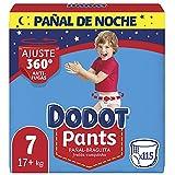 Dodot Pañales Bebé Pants Talla 7 (+17 kg), 115 Pañales, P