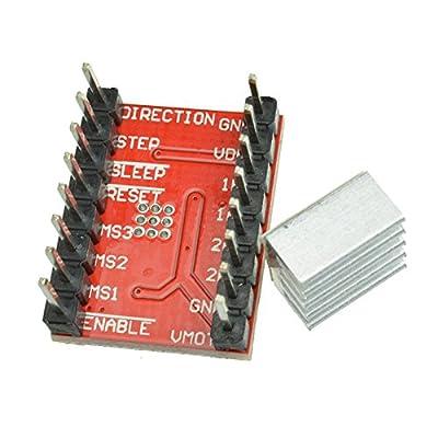 CUHAWUDBA A4988 Stepper Motor Driver Module StepStick 3D Printer Polulu RAMPS RepRap