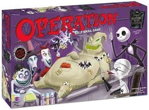 auténtico Nightmare Before Christmas Operation Operation Operation by USAopoly  descuento de ventas en línea