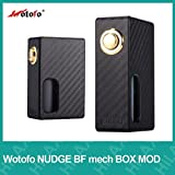 Wotofo 電子タバコ NUDGE BF mech BOX MOD