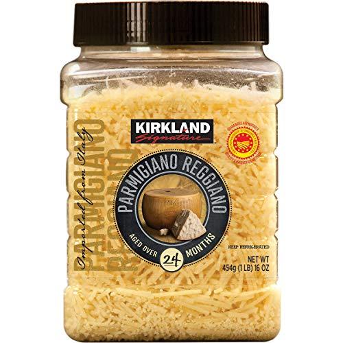 Kirkland Signature Aged Parmigiano Reggiano Cheese, Shredded
