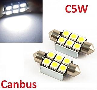 zweifadenbirne Socket Power Rosso/ /Red 2/X BAY15D 12/V Auto Lampade LED con 13/SMD LED SILURO AUTO birnnen per Lampeggiante Fanale Posteriore Luce Freno inion/®