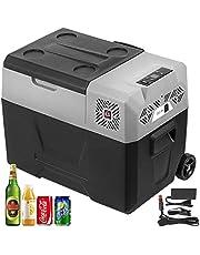 VEVOR 30L Auto Koelkast Compressor Koelbox Roestvrijstalen Vakantie-isolatiebox Mini koelkast Koelbox Auto en stopcontact