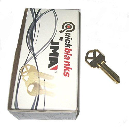 JMA KW1 Brass Key Blanks Box 50