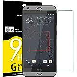 NEW'C 3 Stück, Schutzfolie Panzerglas für HTC Desire 530, Frei von Kratzern, 9H Festigkeit, HD Bildschirmschutzfolie, 0.33mm Ultra-klar, Ultrawiderstandsfähig