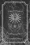 Divination Journal: Tarot Card Notebook Faux Leather Notebook Tarot Journal Planner Magick 2020