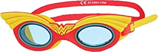 Zoggs Swimming Wonderwoman Character Goggles Junior Pack Of 6