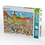 Sommer in der Stadt 1000 Teile Puzzle quer