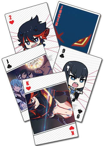 Kill la Kill - 52 cartes à jouer poker - official licensed