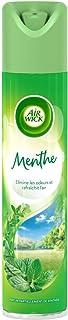 AIR WICK Lot de 6 Désodorisants Aérosol 4 en 1 Menthe - 300 ml