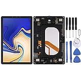 NIEFENG Reemplazo Pantalla Táctil para Samsung Pantalla LCD y digitalizador Asamblea Completa con el Marco, Ajuste for el Galaxy Tab 10.5 Pulgadas S4 SM-T835 (LTE Version) (Negro) (Color : Negro)