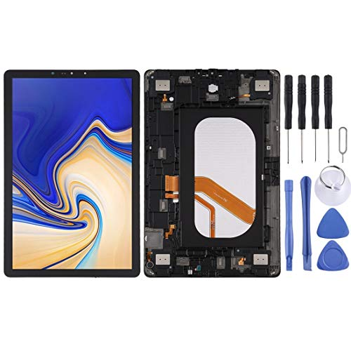 YPZHEN For LCD Screen and Digitizer Full Assembly with Frame for Galaxy Tab S4 10.5 Inch SM-T835 (LTE Version) (Black) Repair Parts (Colour: Black)