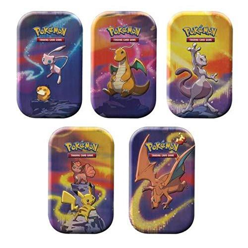 Pokemon Kanto Stärke Mini - Tin Box, Kartenspiel, ab 6 Jahren