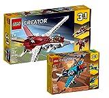 Collectix Lego Creator Set – Avión del Futuro (31086) + helicóptero (31099), set de regalo a partir de 7 años