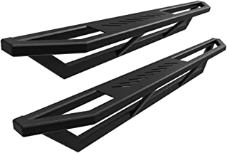 APS iArmor 6.5in Nerf Bars Square Tube Custom Fit 07-18 Silverado Sierra Regular Cab