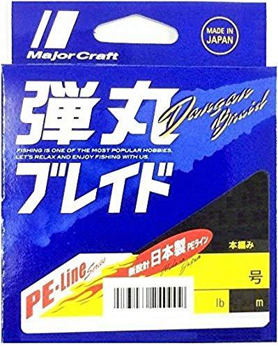 メジャークラフト PEライン 弾丸ブレイド 4本編み エギング DBE4-150/0.4PK ピンク 150M/0.4号