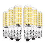 GLIME E14 LED Ampoule 6W Équivalent Halogène 50-65W 550lm 3000K Blanc Chaud AC220-240V Non-Dimmable 360°Angle Faisceau pour Hotte Aspirante Lampe de Chevet Cuisine …