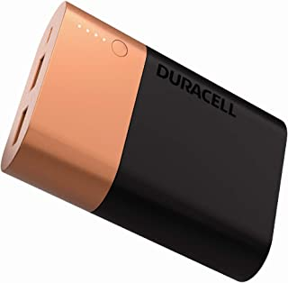 Duracell Powerbank 10050 mAh, Fast Charge External Battery Pack for Smartphones and USB-Powered Devices, Compatible with iPhone, Samsung