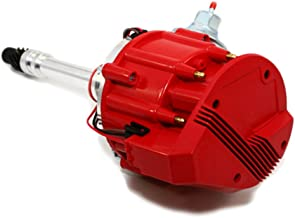 Assault Racing Products 1035001 Small Block Chevy Large Red Cap HEI Distributor SBC 65k Ready To Run