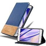 Cadorabo Funda Libro para Samsung Galaxy J5 2016 en Azul MARRÓN - Cubierta Proteccíon con Cierre Magnético, Tarjetero y Función de Suporte - Etui Case Cover Carcasa