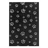 Best Pet Supplies Dog Poop Bags for Waste Refuse Cleanup, Doggy Roll Replacements for Outdoor Puppy Walking and Travel, Leak Proof and Tear Resistant, Thick Plastic - Black, 150 Bags