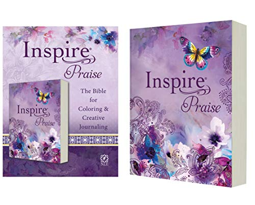 Compare Textbook Prices for Inspire PRAISE Bible NLT Softcover: The Bible for Coloring & Creative Journaling Illustrated Edition ISBN 0031809023761 by Tyndale