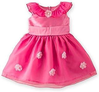 [キャサリンコテージ] ベビードレス コスチューム 妖精のようなオーガンジーとお花のカラーべビードレス PC444DR TAK