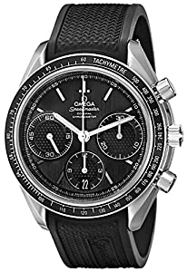 Omega Men's 32632405001001 Speed Master Analog Display Automatic Self Wind Silver Watch image
