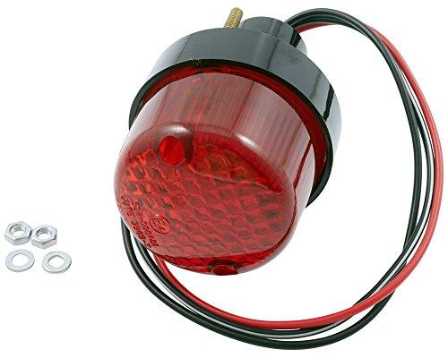Rücklicht Mini, schwarzes Gehäuse, 55x55x75, Motorrad, Quad, Roller 12V
