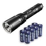 Nitecore SRT7 Revenger 960 Lumens w/8x Free Premium Eco-Sensa CR123A Batteries