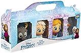 Disney Frozen Elsa, Anna, Olaf e Sven Figure per Bambini, Confezione 4 Mini Personaggi, Set di Figure d'Azione Giocattolo Puzzle 3D Confezione Regalo 4 Pezzi Regalo Bambini 3-12 Anni Maschio Femmina