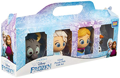 Disney Frozen Eiskönigin Figuren Set Mit Anna, Elsa, Olaf und Sven Aus Die Eiskönigin II, 4er Figurenset, Action-Figur in Geschenkbox, Kinderspielzeug, Süße Radiergummis, Spielzeug