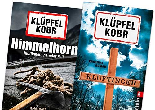 Allgäukrimis: Kommissar Kluftinger Himmelhorn und Kluftinger zwei Fälle (Band 9 und 10) im Geschenk Set von Volker Klüpfel