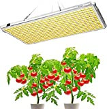 Grow Light for Indoor Plants Full Spectrum, Bozily 300W Seedling Led Grow Lights, Sunlike Plant Grow Light Fixture, Plant Growing Lamps for Seedlings, Succulents, Hydroponic, Veg and Bloom