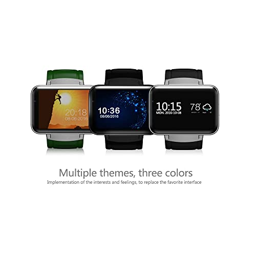iSTYLE Bluetooth Smart Fitness Watch DM98 3G Android 4.4 iOS WiFi GPS Health Wrist Bracelet Heart